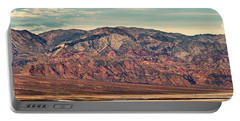 Landscape With Mountain Range Portable Battery Charger
