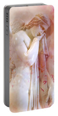 Portable Battery Charger featuring the photograph L'angelo Celeste by Micki Findlay