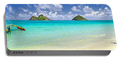 Lanikai Beach Paradise 3 To 1 Aspect Ratio Portable Battery Charger