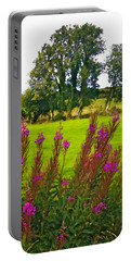 Lanna Fireweeds County Clare Ireland Portable Battery Charger