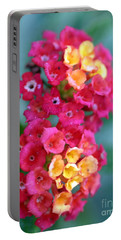 Portable Battery Charger featuring the photograph Lantana by Henrik Lehnerer