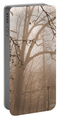 Portable Battery Charger featuring the photograph Lantern In The Rain by Miriam Danar