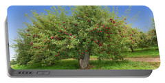 Large Apple Tree Portable Battery Charger