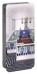 Large Balconied Reception Room Portable Battery Charger