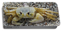 Portable Battery Charger featuring the photograph Ghost Crab by Cynthia Guinn