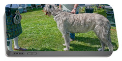 Large Irish Wolfhound Dog  Portable Battery Charger
