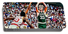 Larry Bird Portable Battery Charger by Florian Rodarte