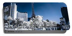 Las Vegas Strip In Infrared 2 Portable Battery Charger