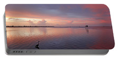 Portable Battery Charger featuring the photograph Last Light by HH Photography of Florida
