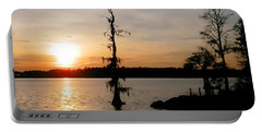 Portable Battery Charger featuring the photograph Last Sunset Of 2012 by Victor Montgomery