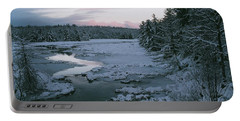Portable Battery Charger featuring the photograph Late Afternoon In Winter by David Porteus