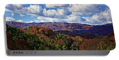 Late Autumn Beauty Portable Battery Charger by Tom Culver