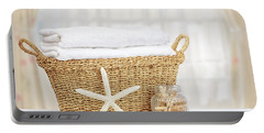Laundry Basket Portable Battery Charger