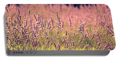 Lavender Dreams Portable Battery Charger by Lynn Sprowl
