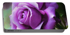 Lavender Lady Portable Battery Charger