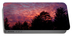 Lavender Skies Portable Battery Charger