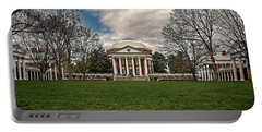 Lawn And Rotunda At University Of Virginia Portable Battery Charger