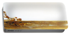 Lazy Dayz Cheetah - Original Artwork Portable Battery Charger