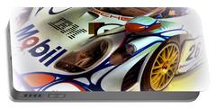 Le Mans 1998 Porsche 911 Gt1 Portable Battery Charger