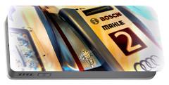 Le Mans 2013 Audi E-tron Quatro R18h Portable Battery Charger