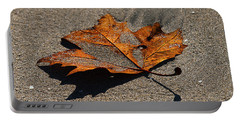 Portable Battery Charger featuring the photograph Leaf Composed by Joe Schofield