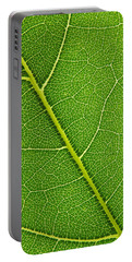 Portable Battery Charger featuring the photograph Leaf Detail by Carsten Reisinger