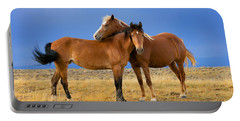 Lean On Me Wild Mustang Portable Battery Charger