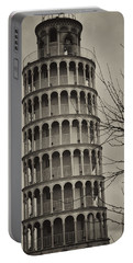 Portable Battery Charger featuring the photograph Leaning Tower by Miguel Winterpacht