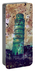 Leaning Tower Of Pisa 1 Portable Battery Charger