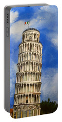 Leaning Tower Of Pisa Portable Battery Charger