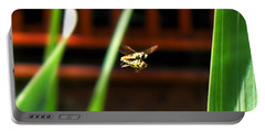 Portable Battery Charger featuring the photograph Leave No Bee Behind by Thomas Woolworth