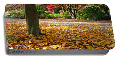 Leaves And More Leaves Portable Battery Charger