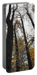 Leaves Lost Portable Battery Charger by Photographic Arts And Design Studio