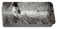 Portable Battery Charger featuring the photograph Leaving by Jason Politte