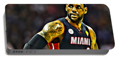 Lebron Portable Battery Charger by Florian Rodarte