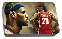 Lebron James Portable Battery Chargers