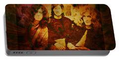 Led Zeppelin - Kashmir Portable Battery Charger by Absinthe Art By Michelle LeAnn Scott