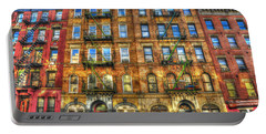 Led Zeppelin Physical Graffiti Building In Color Portable Battery Charger