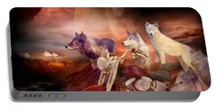 Legend Of Wolf Mountain Portable Battery Charger