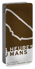 Legendary Races - 1923 24 Heures Du Mans Portable Battery Charger