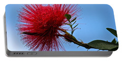 Lehua Blossom Portable Battery Charger by Venetia Featherstone-Witty