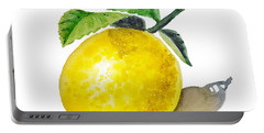 Artz Vitamins The Lemon Portable Battery Charger by Irina Sztukowski