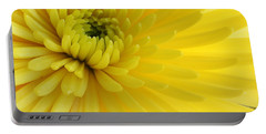 Portable Battery Charger featuring the photograph Lemon Mum by The Art of Alice Terrill