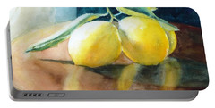 Lemon Reflections Portable Battery Charger