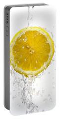 Lemon Splash Portable Battery Charger