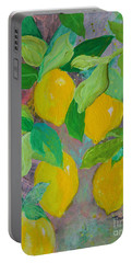 Lemons On Lemon Tree Portable Battery Charger