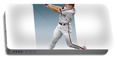 Lenny Dykstra Portable Battery Charger by Scott Weigner