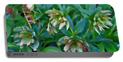 Lenten Roses Portable Battery Charger