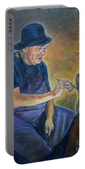 Figurative Painting Portable Battery Charger