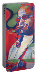 Leroi Moore Colorful Full Band Series Portable Battery Charger by Joshua Morton